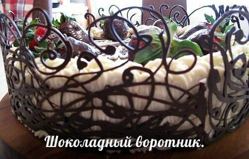 Украшение для тортов своими руками из шоколада