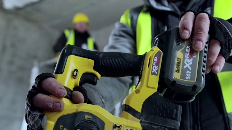 The DEWALT XR FLEXVOLT System. All the power, all the tools, one battery.