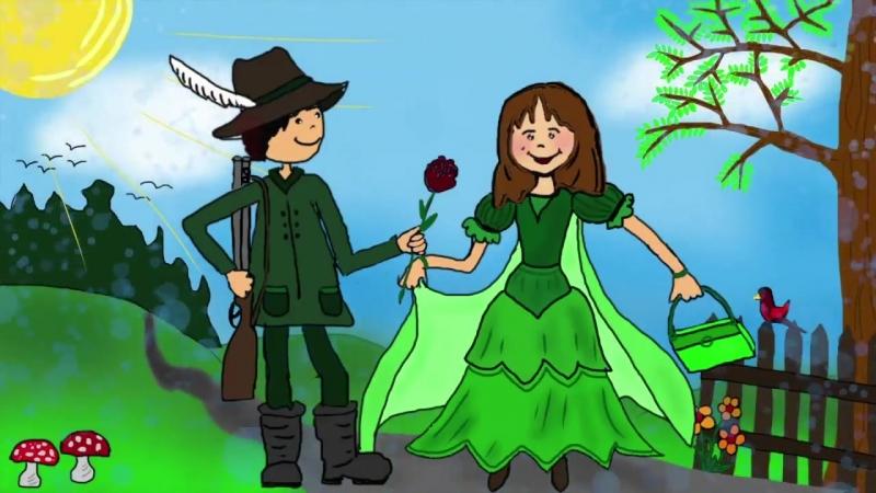 Grün, grün, grün sind alle meine Kleider - Kinderlieder zum Mitsingen _ Kinderlieder deutsch