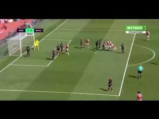 АПЛ Арсенал - Вест Хэм 4:1 обзор 22.04.2018 HD
