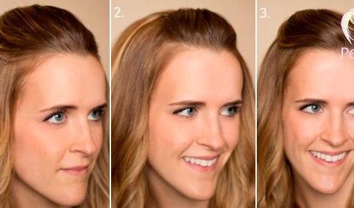 Макияж для брюнеток со светлыми волосами