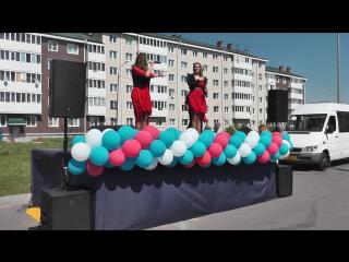 Елизавета и Анна Родины в Жк Славянка-Дедушка( Красные маки)