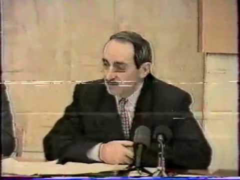 Официальная хроника на Грозненском ТВ в декабре 1993 года