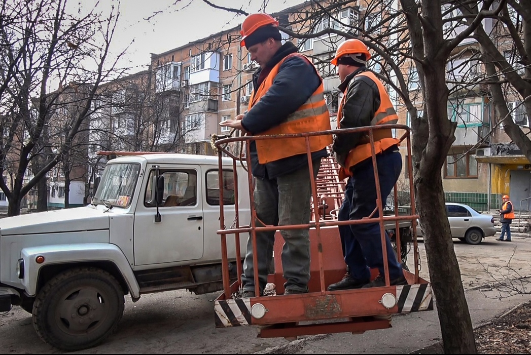 В Киевском районе восстановлено уличное освещение