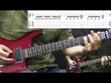 Slayer - South Of Heaven - Metal Guitar Lesson (with TABS)