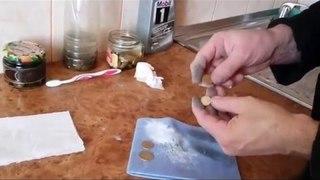 Чистка монет из алюминиевой бронзы. Аналогов нет!!!