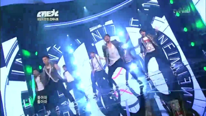 [100628] tvN «Newton»: Infinite - Come Back Again
