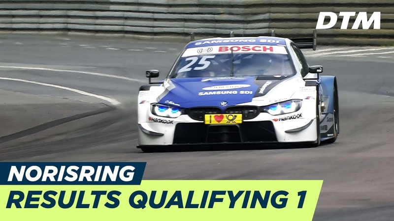 Top 3, Results Highlights Qualifying 1 - DTM Budapest 2018