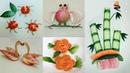 22 Tricks With Fruits And Veggies - Creative Food Art Ideas