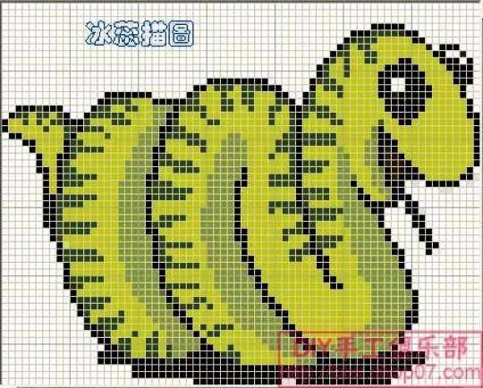 Символ года - Змея. Схемы