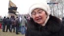 Открытие Памятника защитникам Отечества в Аргаяше
