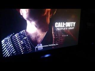 В сети появилась предположительная демонстрация меню Call of Duty: People's Army