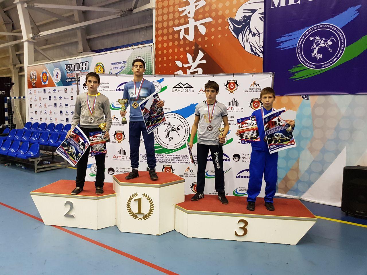 Вольники из Сторожевой призеры первенства России