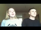 Девушка поет песню : Океанами Стали ♫ Парень круто играет на синтезаторе