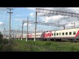 ЭП1М-715 с фирменным поездом