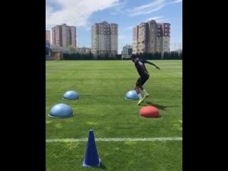 Футбольный клуб Башакшехир - упражнения по физической подготовке
