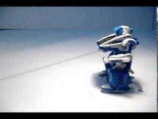 Игрушка-конструктор на солнечных батареях Робот Трансформер