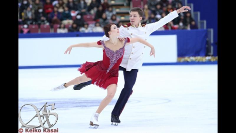 ISU European Championships 2016 FD Ekaterina BOBROVA Dmitri SOLOVIEV