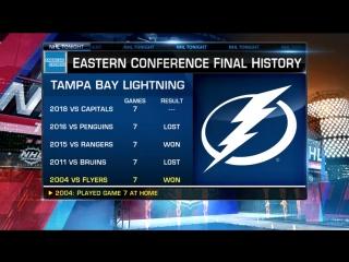 NHL Tonight: Caps/Tampa Game 7 May 22, 2018
