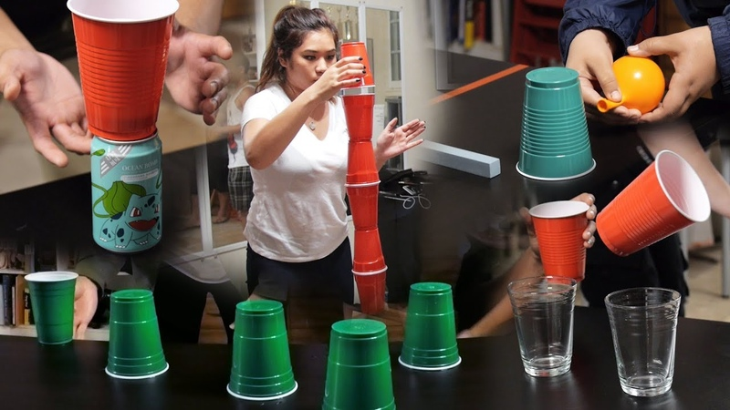 8 Fun and Cheap Party Games with Cups (Minute to Win It Game Ideas)