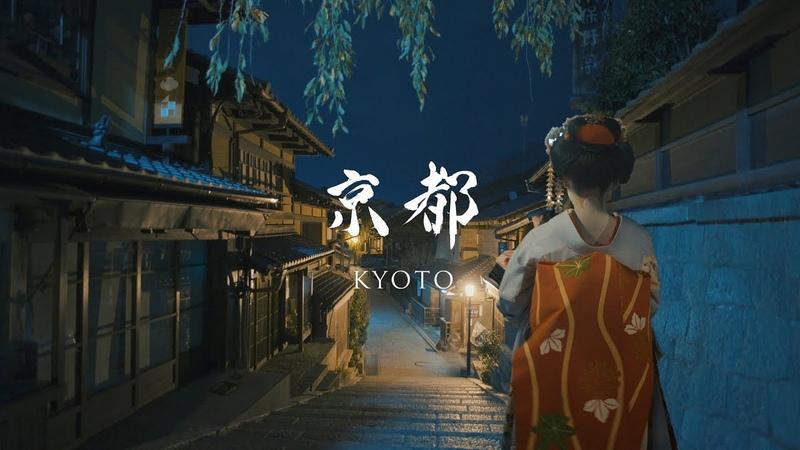 京都の夜 - Kyoto at night -【SONY α7SⅡ PILOTFLY Adventurerジンバル】
