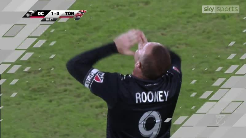 Rooneys match winning free kick