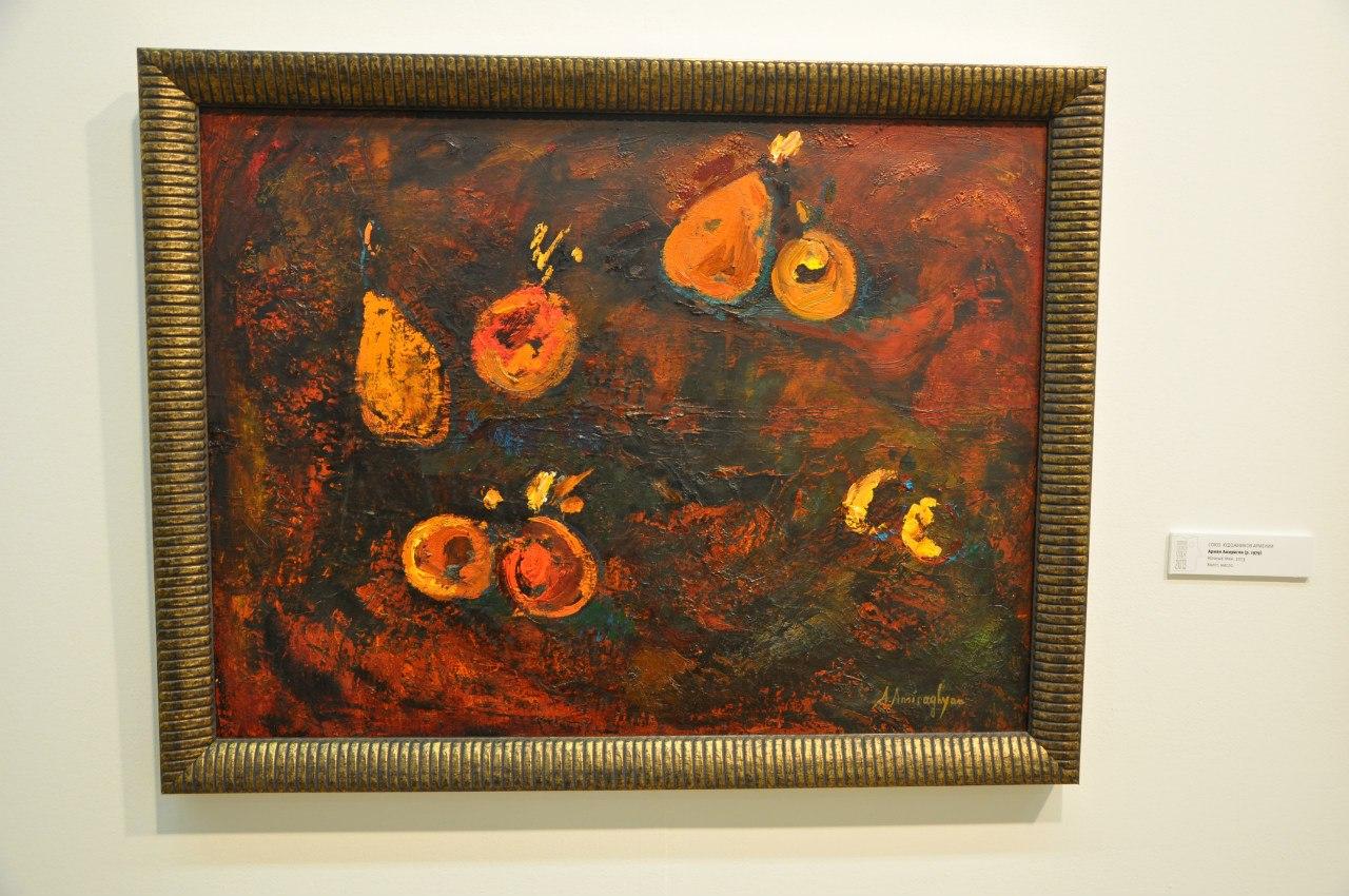 Союз художников Армении  Армен Амирагян (р. 1979)  Ночные тени. 2013  Холст, масло