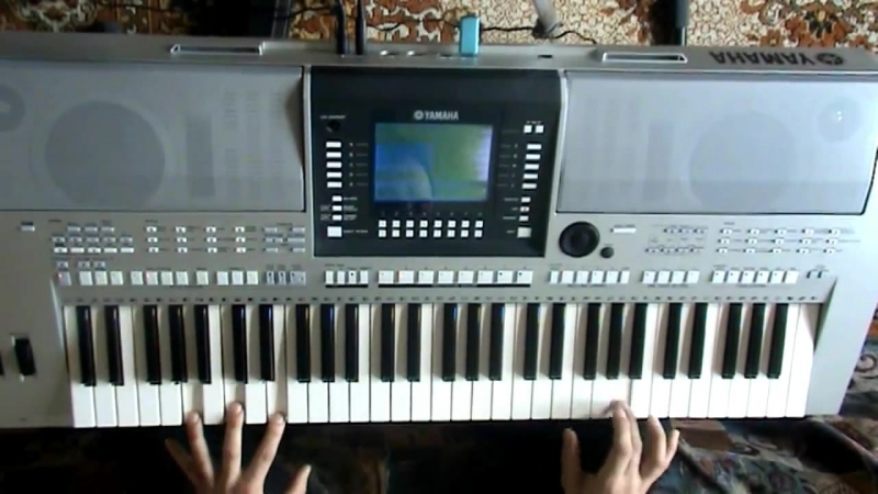 Сектор ГАЗА - LIFE Игра на синтезаторе Yamaha PSR-S710 (16 авг 2012)