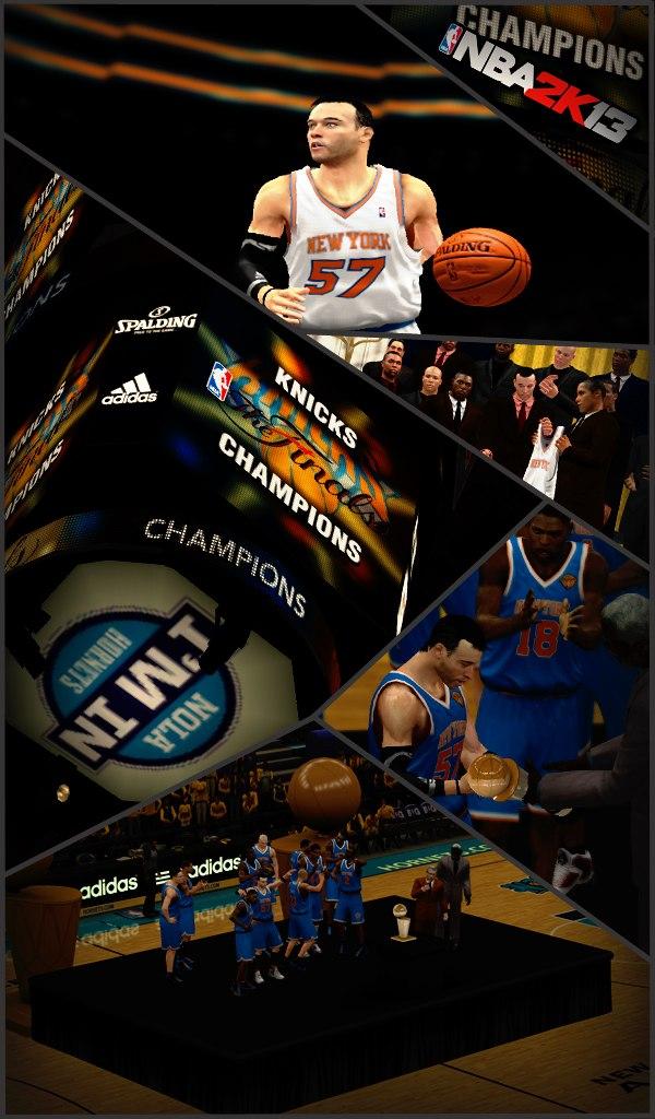 Нью-Йорк чемпионы НБА2К2018