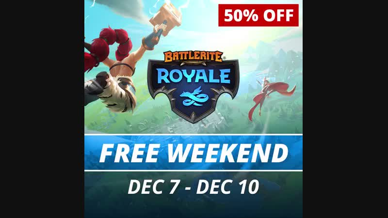 Battlerite Royale is Free to Play this week and 50 off on Steam!