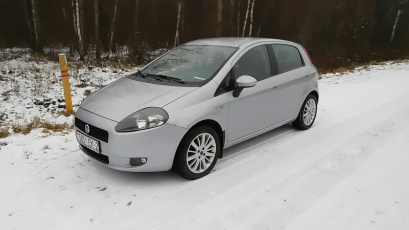 Фиат гранд пунто FIAT Grande Punto Обзор, характеристики, ремонтопригодность, машина до 5000 $