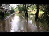 Наводнение Хабаровск 2013 улицы в воде 720 см