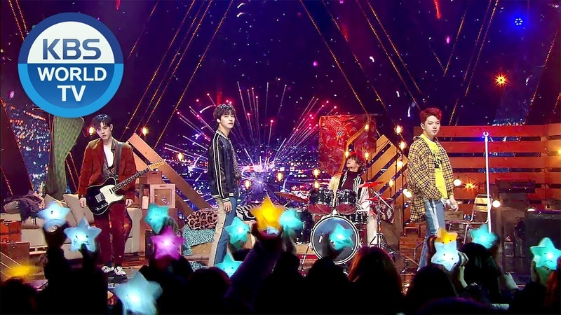 N.Flying - WINTER WINTER, Rooftop(옥탑방) [Music Bank Come Back / 2019.01.04]