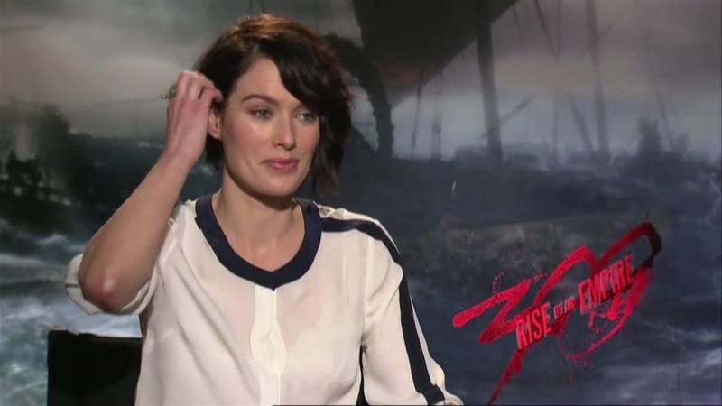 300_ Rise of an Empire (2014) Exclusive Lena Headey Interview [HD]