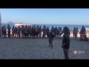 Марсело поиграл на пляже с простыми людьми