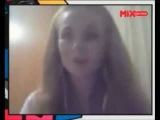 Lena Katina Interview via Skype at MiX TV Brazil (04.07.13) Part 2.