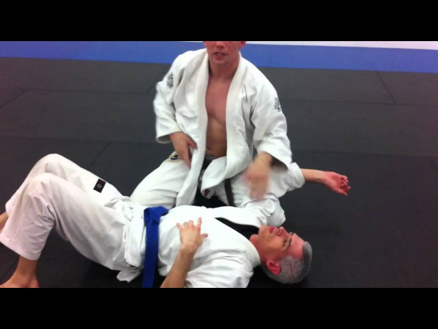 Skirt Choke From Side Control