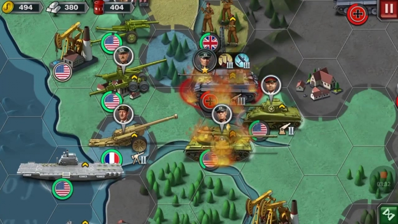 Союзники—6 Operation Overlord—World Conqueror 3