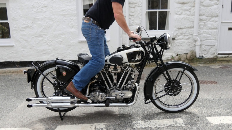 MATCHLESS 1939 MODEL X SS100