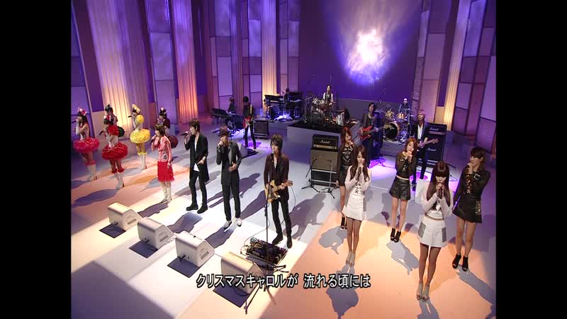 Momoiro Clover Z and others - Christmas Carol No Koroniha (Music Fair - 2011.12.10)