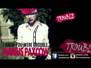 Taylor Swift - I Knew You Were Trouble LYRICS VIDEO (Punk Rock cover by Marius Paxcow)