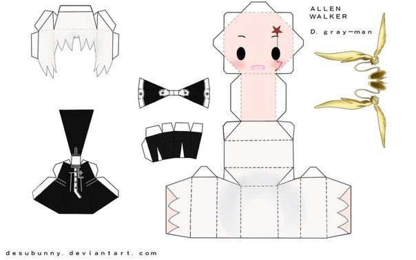 Оригами, подарки, аниме из