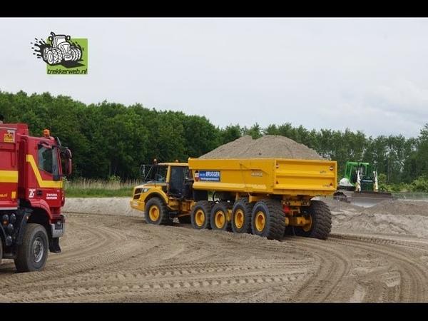 De zandbaan van de TKD in Almere Trekkerweb