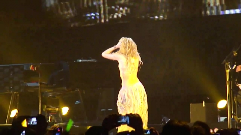 Shakira Live⁄ Sale el Sol-tour ⁄ Hips don`t lie ⁄ Ahoy Rotterdam 1dec2010