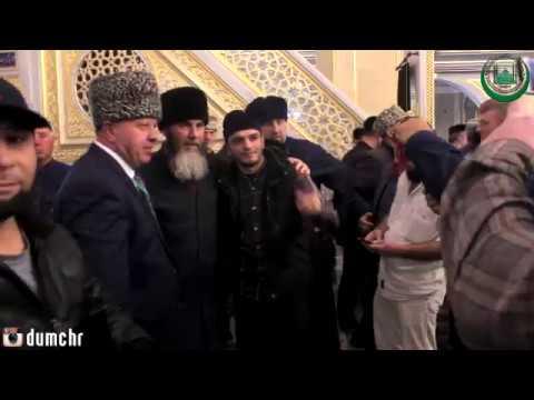 Салахь Межиев провел пятничную молитву в мечети Сердце Чечни (05.19.18)