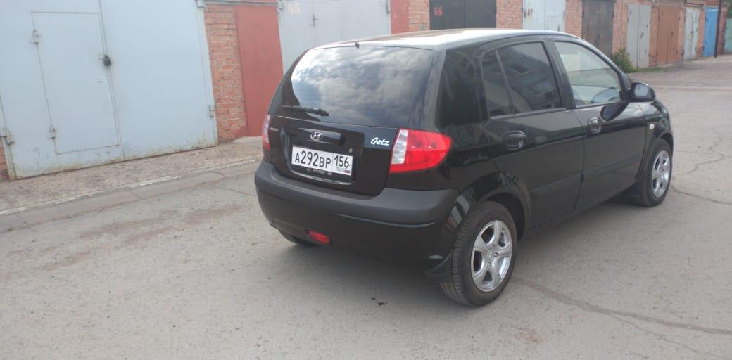 Продажа от собственника! Купить Hyundai Getz | Объявления Орска и Новотроицка №5295