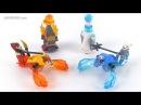 LEGO Chima Speedorz 70156 Fire vs Ice reviewed! Summer 2014