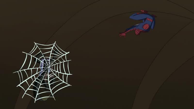 Грандиозный Человек Паук 1 Сезон 3 Серия Естественный Отбор