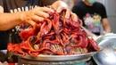 Taiwan Street Food - EEL NOODLES COFFIN BREAD Seafood Tainan