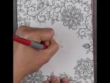 Открытка с раскрывающимся цветком ко дню матери / Blossom